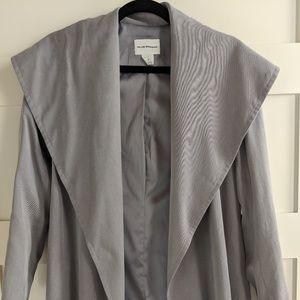 Club Monaco Trench Coat - Gray